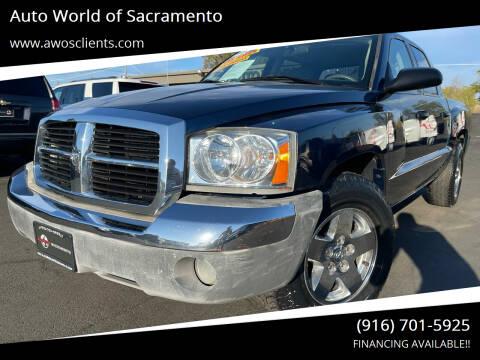 2005 Dodge Dakota for sale at Auto World of Sacramento Stockton Blvd in Sacramento CA