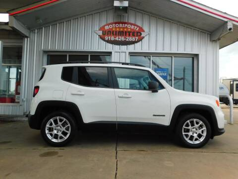 2019 Jeep Renegade for sale at Motorsports Unlimited in McAlester OK