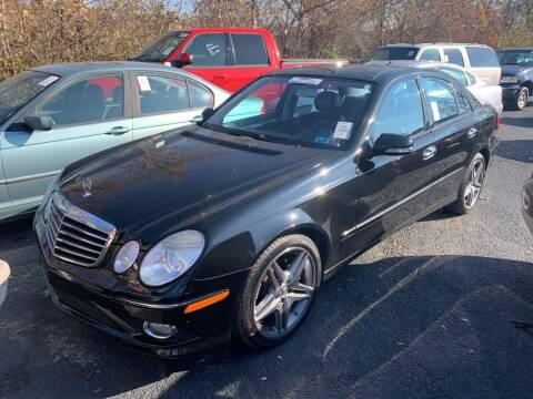 2009 Mercedes-Benz E-Class for sale at Trocci's Auto Sales in West Pittsburg PA