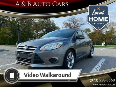 2013 Ford Focus for sale at A & B Auto Cars in Newark NJ