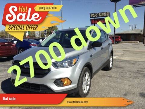 2017 Ford Escape for sale at Ital Auto in Oklahoma City OK