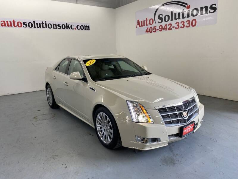 2011 Cadillac CTS for sale at Auto Solutions in Warr Acres OK