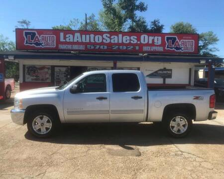 2012 Chevrolet Silverado 1500 for sale at LA Auto Sales in Monroe LA
