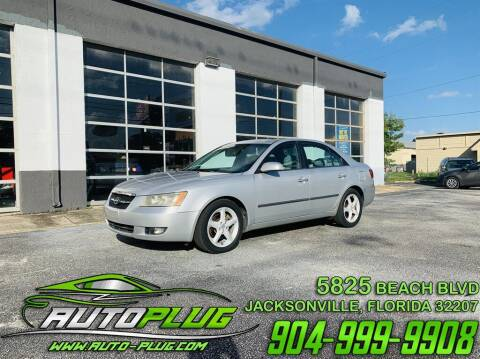 2008 Hyundai Sonata for sale at AUTO PLUG in Jacksonville FL