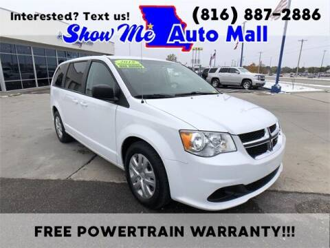 2018 Dodge Grand Caravan for sale at Show Me Auto Mall in Harrisonville MO