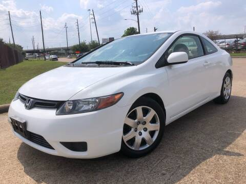 2008 Honda Civic for sale at TWIN CITY MOTORS in Houston TX