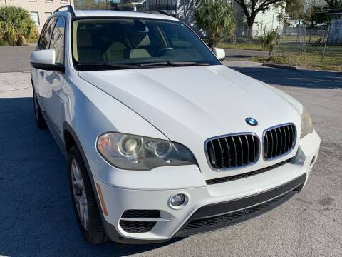 2012 BMW X5 for sale at Consumer Auto Credit in Tampa FL