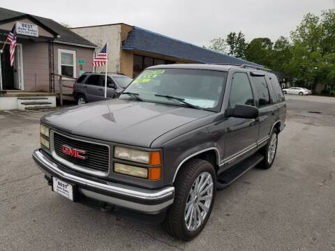 1999 GMC Yukon for sale at Best Auto Sales in Jacksonville NC