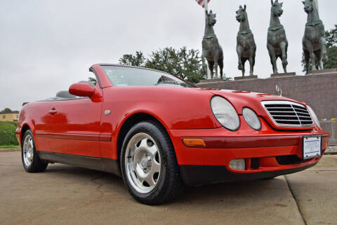 1999 Mercedes-Benz CLK for sale at European Motor Cars LTD in Fort Worth TX