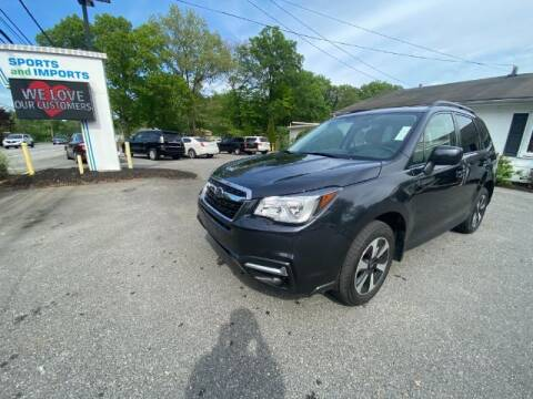 2018 Subaru Forester for sale at Sports & Imports in Pasadena MD
