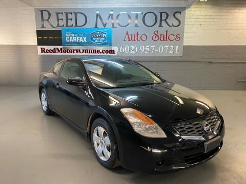 2008 Nissan Altima for sale at REED MOTORS LLC in Phoenix AZ