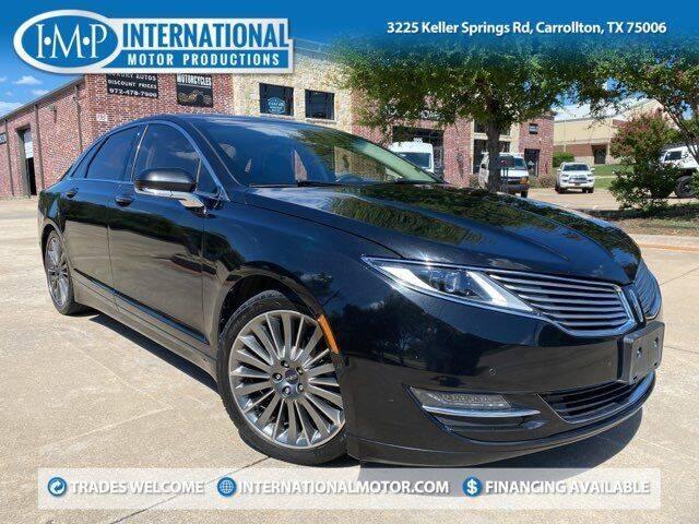 2014 Lincoln MKZ Hybrid for sale in Carrollton, TX
