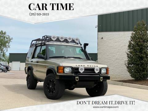 2002 Land Rover Discovery Series II for sale at Car Time in Philadelphia PA