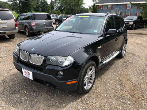 2009 BMW X3 for sale at Winner's Circle Auto Sales in Tilton NH