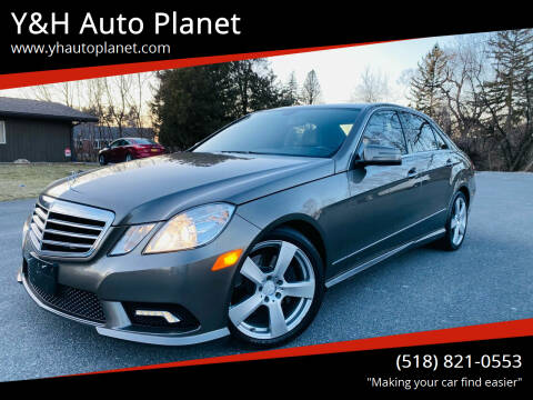 2011 Mercedes-Benz E-Class for sale at Y&H Auto Planet in West Sand Lake NY