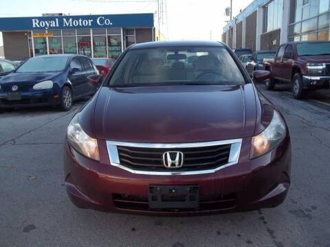 2009 Honda Accord for sale at Royal Motors - 33 S. Byrne Rd Lot in Toledo OH