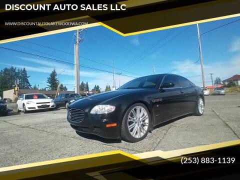 2006 Maserati Quattroporte for sale at DISCOUNT AUTO SALES LLC in Spanaway WA