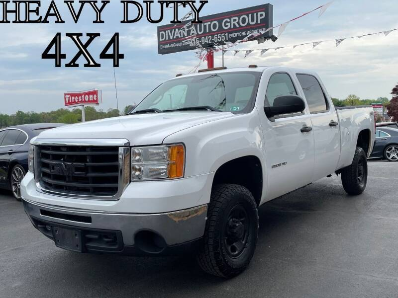 2010 GMC Sierra 2500HD for sale at Divan Auto Group in Feasterville PA