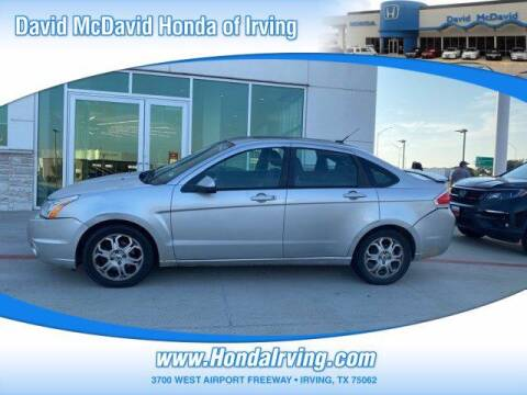 2009 Ford Focus for sale at DAVID McDAVID HONDA OF IRVING in Irving TX