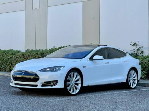 2012 Tesla Model S for sale at Carfornia in San Jose CA