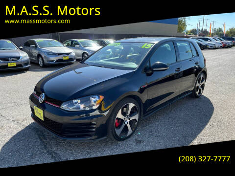 2015 Volkswagen Golf GTI for sale at M.A.S.S. Motors in Boise ID