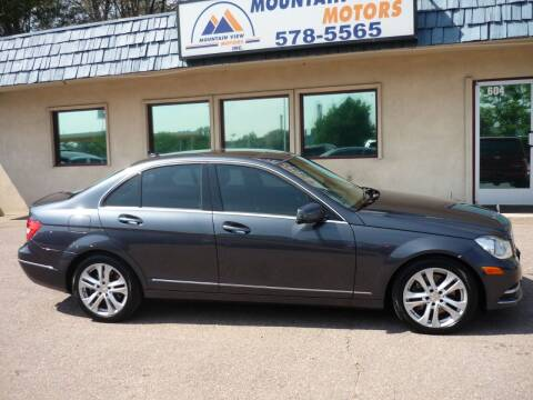 2013 Mercedes-Benz C-Class for sale at Mountain View Motors Inc in Colorado Springs CO