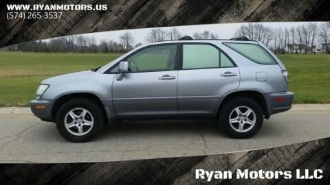 2002 Lexus RX 300 for sale at Ryan Motors LLC in Warsaw IN