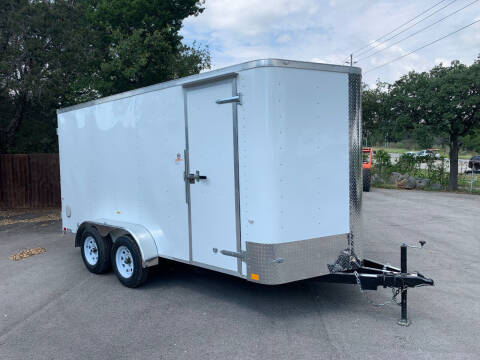 2022 CARGO CRAFT 7X16 DOORS for sale at Trophy Trailers in New Braunfels TX