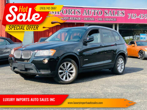 2013 BMW X3 for sale at LUXURY IMPORTS AUTO SALES INC in North Branch MN