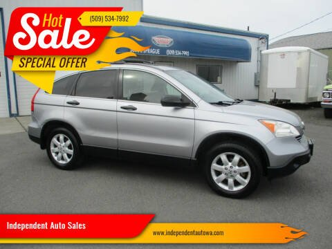 2007 Honda CR-V for sale at Independent Auto Sales in Spokane Valley WA