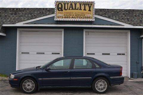 2001 Volvo S80 for sale at Quality Pre-Owned Automotive in Cuba MO