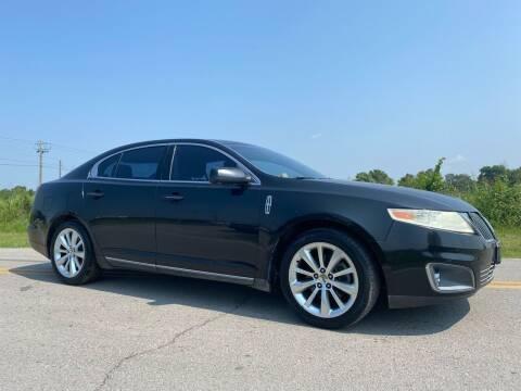 2009 Lincoln MKS for sale at ILUVCHEAPCARS.COM in Tulsa OK