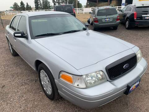 2009 Ford Crown Victoria for sale at Praylea's Auto Sales in Peyton CO