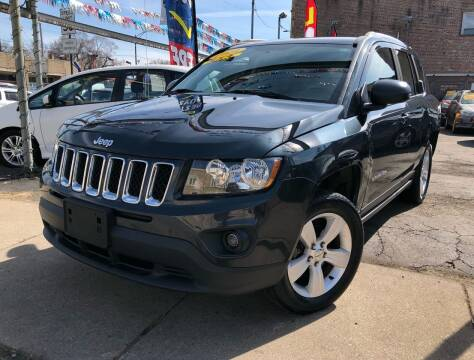 2014 Jeep Compass for sale at Jeff Auto Sales INC in Chicago IL