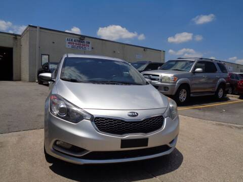 2014 Kia Forte5 for sale at ACH AutoHaus in Dallas TX