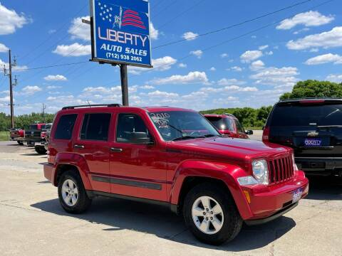 2010 Jeep Liberty for sale at Liberty Auto Sales in Merrill IA