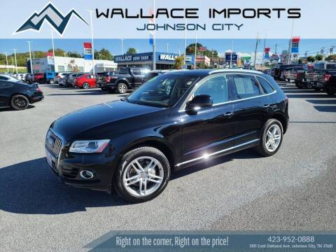 2015 Audi Q5 for sale at WALLACE IMPORTS OF JOHNSON CITY in Johnson City TN