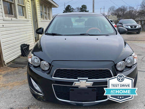 2015 Chevrolet Sonic for sale at Shoals Dealer LLC in Florence AL