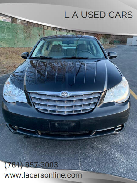 2007 Chrysler Sebring for sale at L A Used Cars in Abington MA