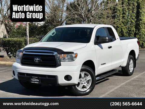 2010 Toyota Tundra for sale at Worldwide Auto Group in Auburn WA