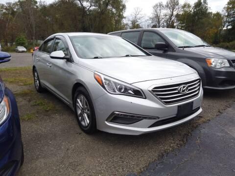 2015 Hyundai Sonata for sale at RS Motors in Falconer NY