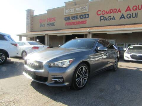 2014 Infiniti Q50 for sale at Import Motors in Bethany OK