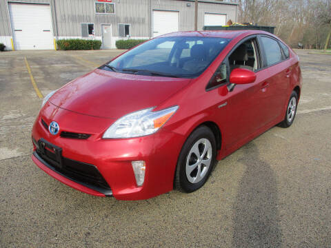 2015 Toyota Prius for sale at Triangle Auto Sales in Elgin IL