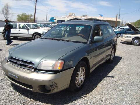 2001 Subaru Outback for sale at One Community Auto LLC in Albuquerque NM