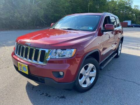2012 Jeep Grand Cherokee for sale at Granite Auto Sales in Spofford NH