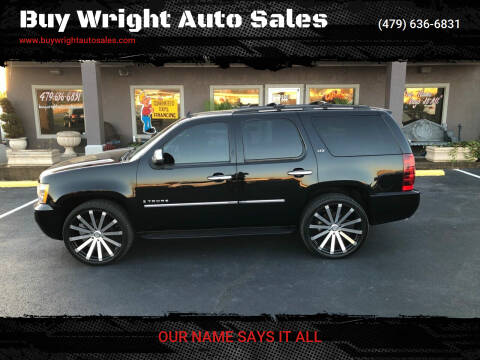 2009 Chevrolet Tahoe for sale at Buy Wright Auto Sales in Rogers AR