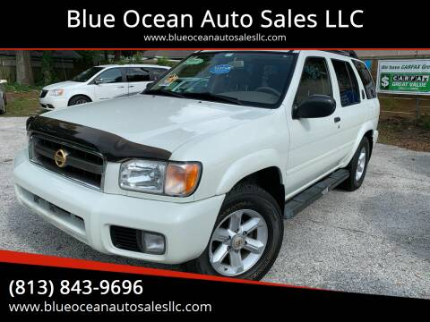 2004 Nissan Pathfinder for sale at Blue Ocean Auto Sales LLC in Tampa FL