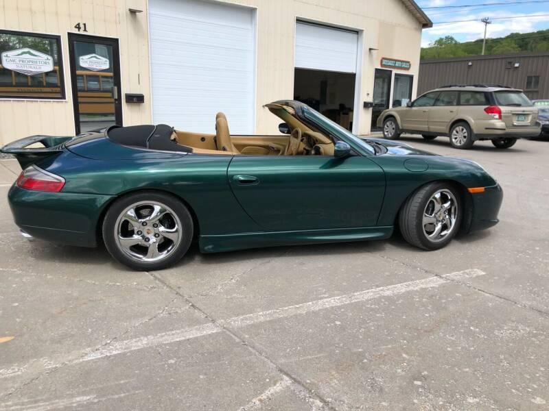 2001 Porsche 911 for sale at Dussault Auto Sales in Saint Albans VT