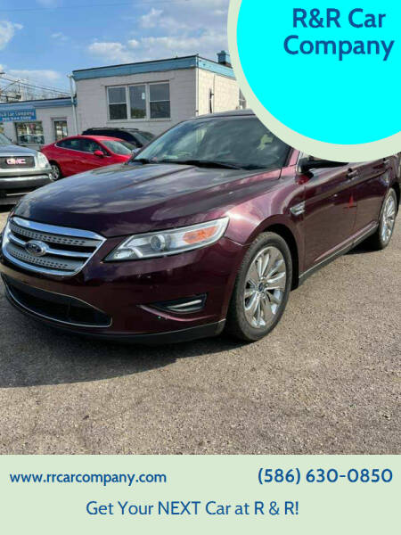 2011 Ford Taurus for sale at R&R Car Company in Mount Clemens MI