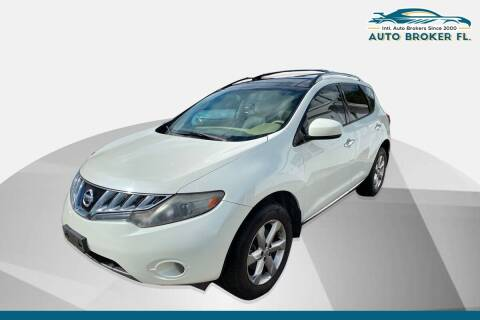2010 Nissan Murano for sale at INTERNATIONAL AUTO BROKERS INC in Hollywood FL